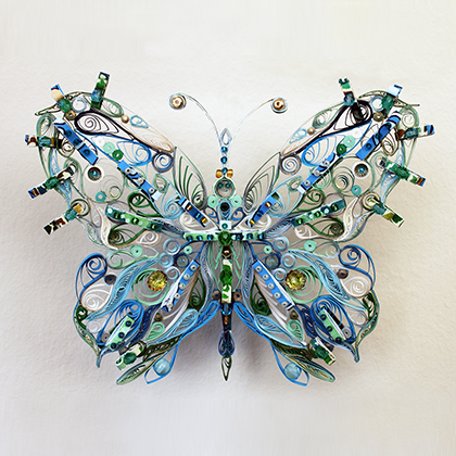 Quilled Treasures - Butterfly (No. 1)