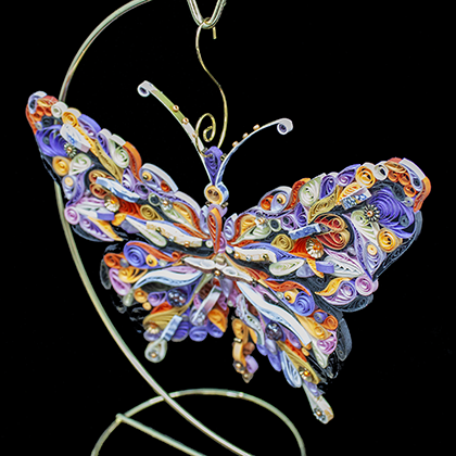 Quilled Treasures - Butterfly (No. 3)