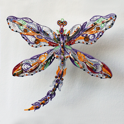 Quilled Treasures - Dragonfly (No. 1)