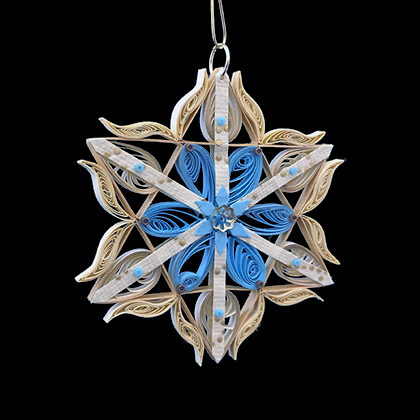 Quilled Treasures - Star Ornament No. 2a