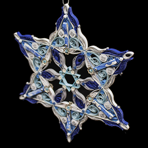 Quilled Treasures - Star of David (No. 3)