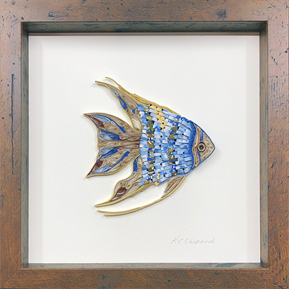 Quilled Treasures - Angelfish No. 1