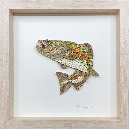 Quilled Treasures - Trout No. 1