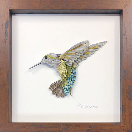 Quilled Treasures - Hummingbird No. 1