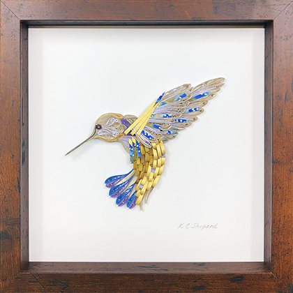 Quilled Treasures - Hummingbird No. 2