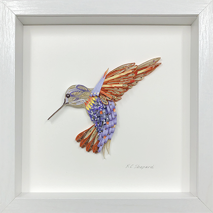 Quilled Treasures - Hummingbird No. 3