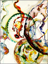 Abstract Watercolor: Union Series