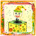 Children's Toy Block watercolor